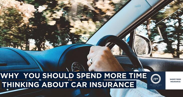 Why you should spend more time thinking about car insurance