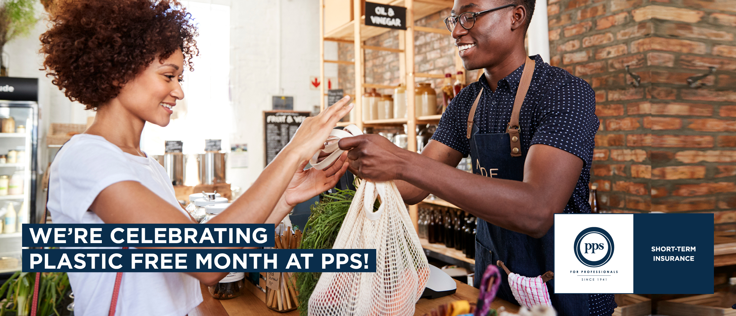 WE'RE CELEBRATING PLASTIC FREE MONTH AT PPS!